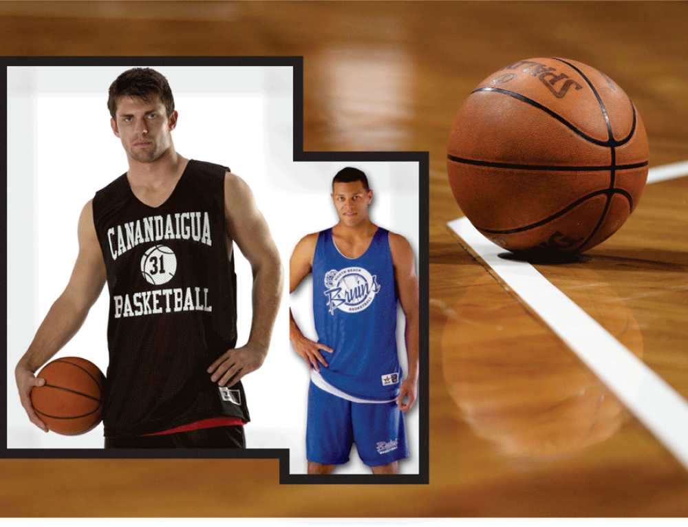 Basketball Reversible Jersey Sale