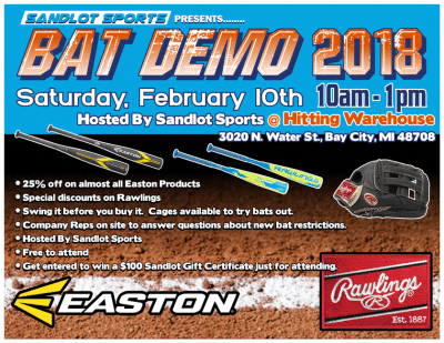 Saginaw Bat Demo